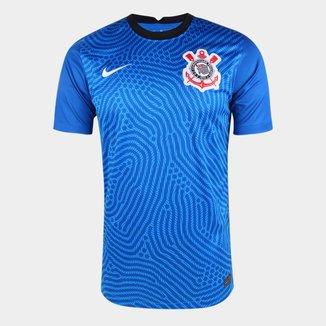 Camisa de Goleiro Corinthians 20/21 s/n° Torcedor Nike Masculina