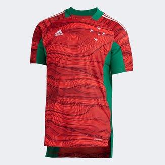 Camisa de Goleiro Cruzeiro I 21/22 s/n° Torcedor Adidas Masculina