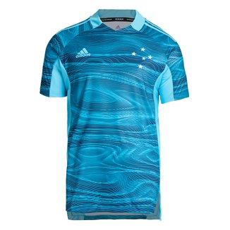 Camisa de Goleiro Cruzeiro II 21/22 s/n° Torcedor Adidas Masculina