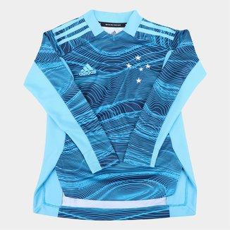 Camisa de Goleiro Cruzeiro Juvenil II 21/22 s/n° Torcedor Adidas