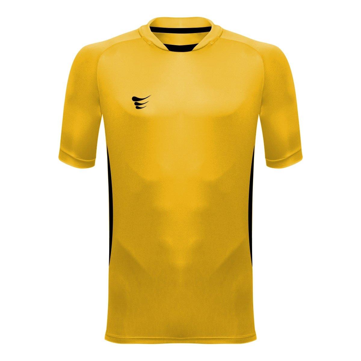 Camisa Camisa De Manga Bolla Super Goleiro Mito Amarelo De Curta ppwqr5