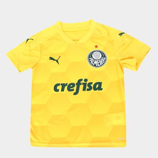 Camisa de Goleiro Palmeiras Juvenil I 20/21 s/n° Torcedor Puma