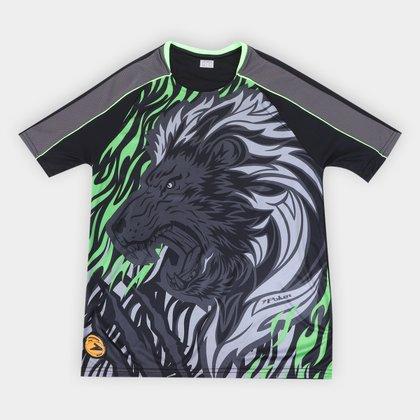 Camisa de Goleiro Poker Sublimax Lion Masculina