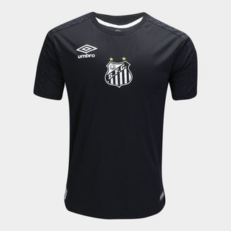 Camisa de Goleiro Santos II 2019 Torcedor Umbro Masculina