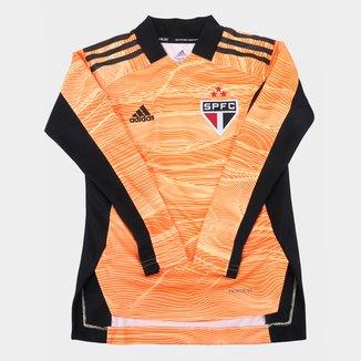 Camisa de Goleiro São Paulo Juvenil II 21/22 s/n° Torcedor Adidas