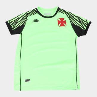 Camisa de Goleiro Vasco Infantil II 21/22 s/n° Torcedor Kappa