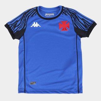 Camisa de Goleiro Vasco Juvenil I 21/22 s/n° Torcedor Kappa