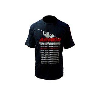 Camisa de malha de manga curta estampada Equipment Performance 100% algodão