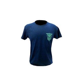 Camisa de malha manga curta Águia Romana 100% algodão