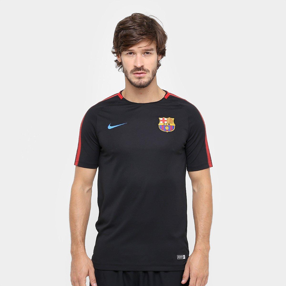 Camisa De Treino Barcelona Masculina Netshoes
