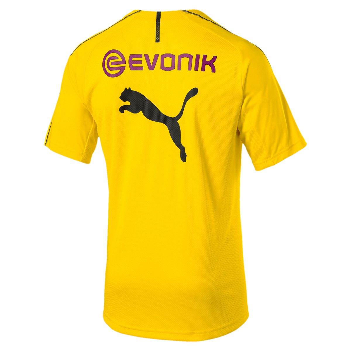 Camisa de Treino Borussia Dortmund 18 19 s n° Puma Masculina ... 8eba6a85e05a5