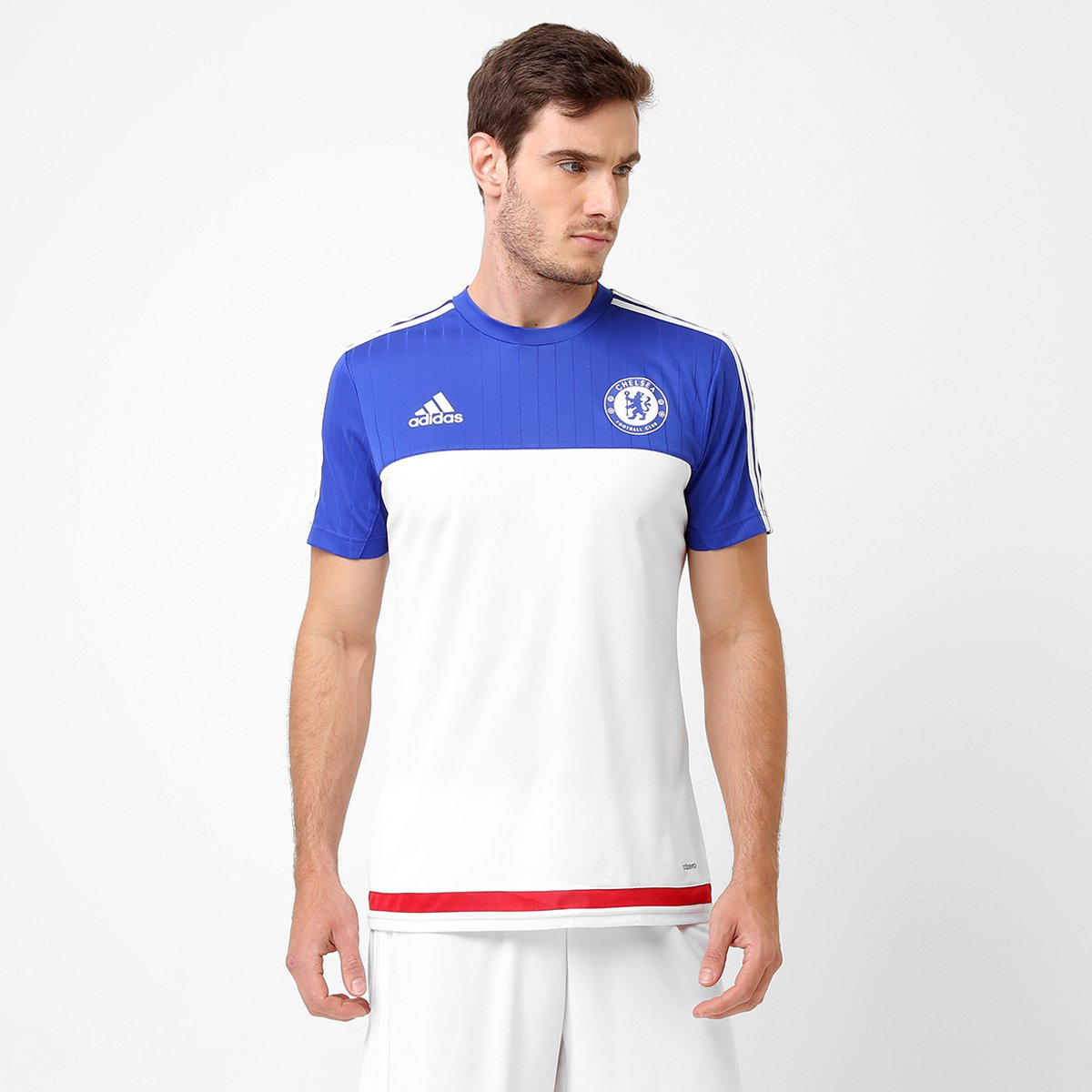 Camisa de Treino Chelsea 2015 Adidas Masculina - Compre Agora  0f0a43981d40d