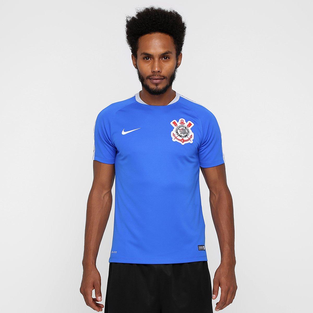 93ae6a09a23fa Camisa de Treino Corinthians 2016 Nike Masculina - Compre Agora ...