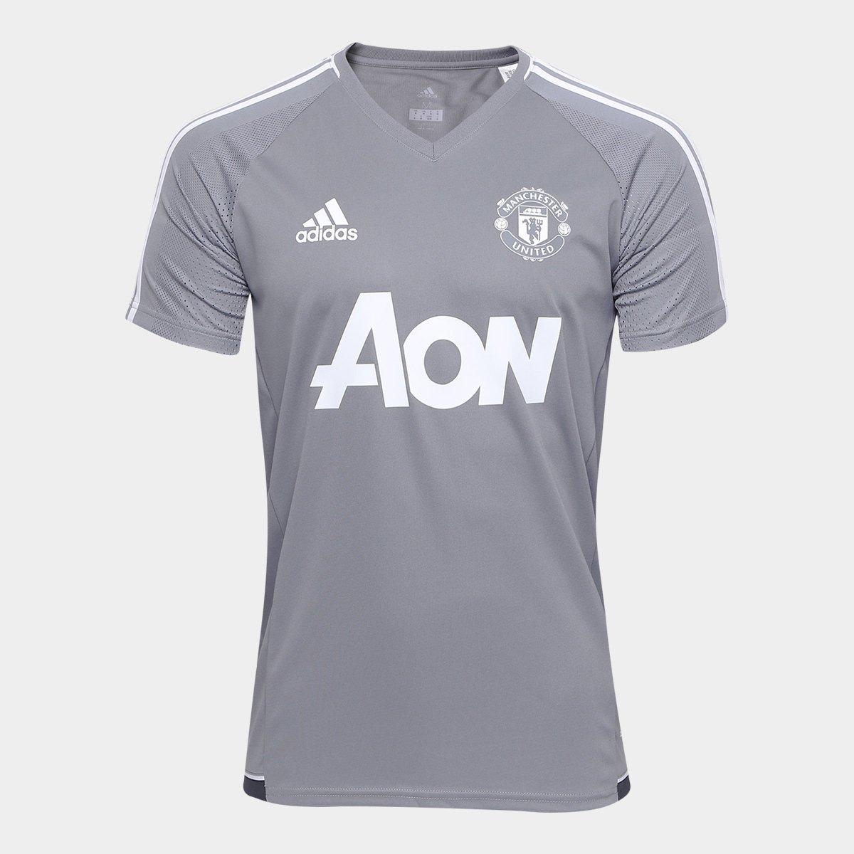 58dabe9de3 Camisa de Treino Manchester United 17 18 Adidas Masculina - Compre ...