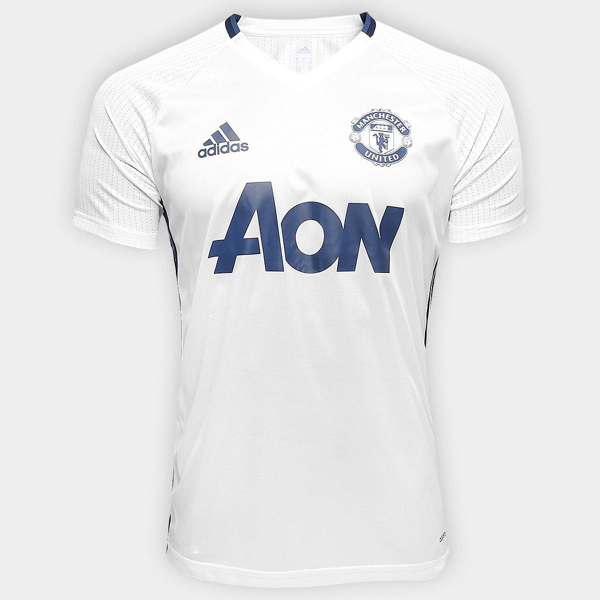 c9d97d4a3 Camisa de Treino Manchester United 17 18 Adidas Masculina - Compre Agora
