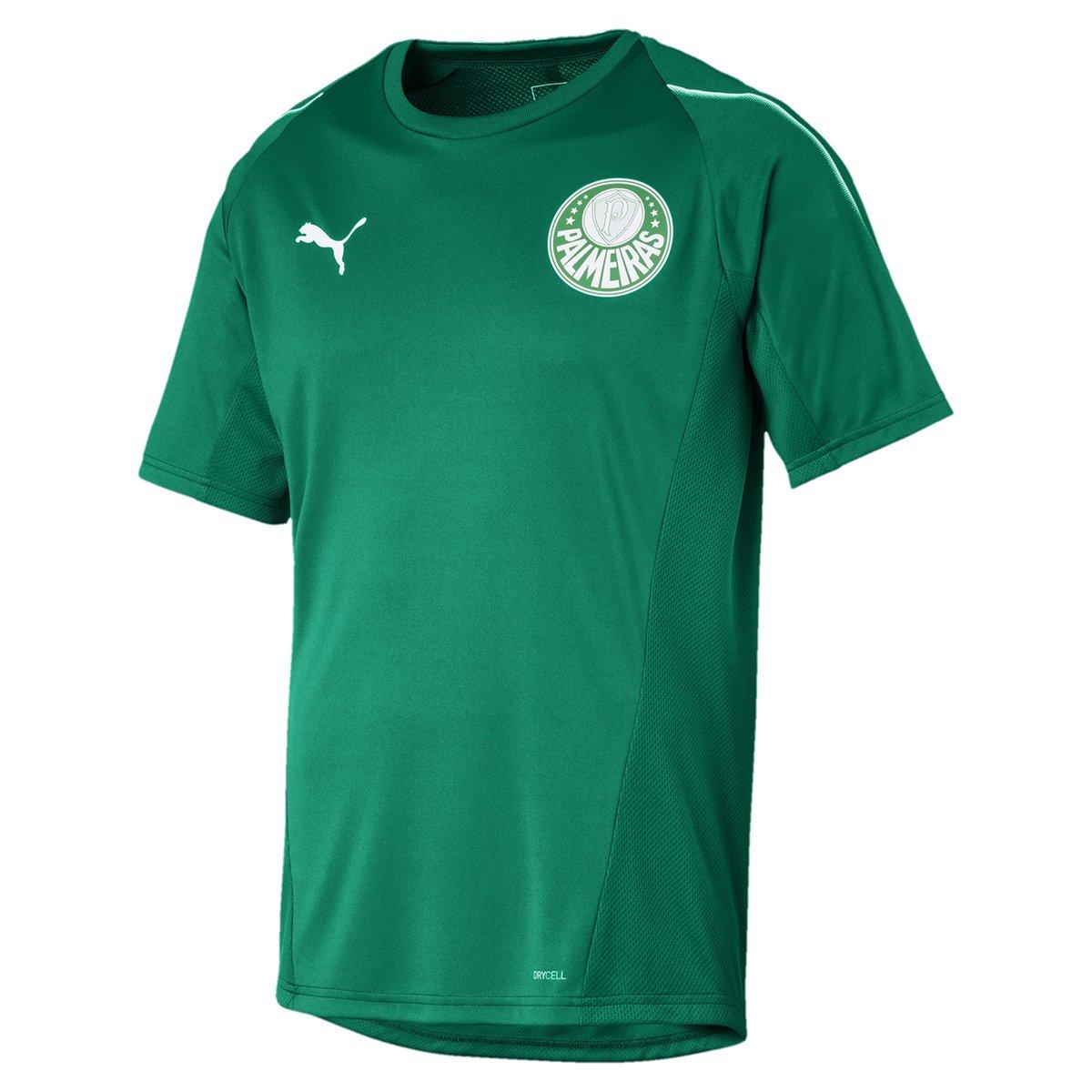 ba4a69e9ab Camisa de Treino Palmeiras 19 20 Puma Masculina - Verde - Compre ...