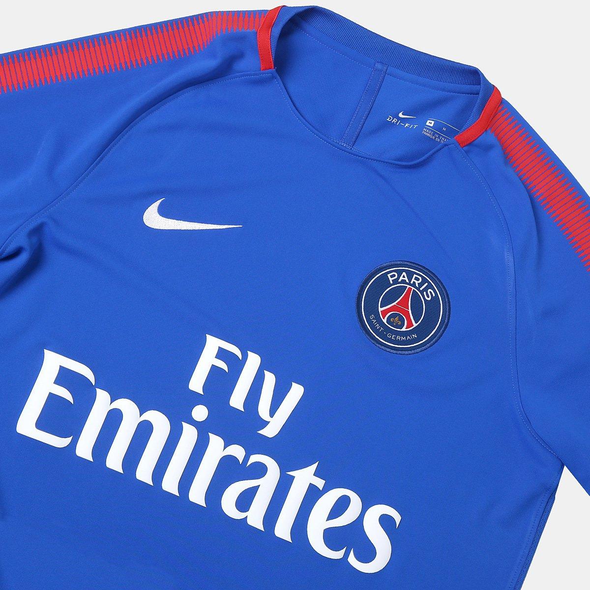 Camisa de Treino Paris Saint Germain Nike Masculina - Compre Agora ... 3e302ba79407b