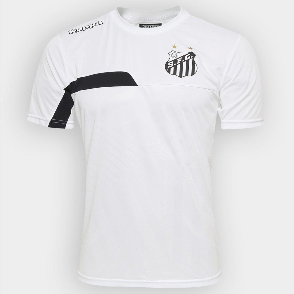 69c263f06c Camisa de Treino Santos 2016 Kappa Masculina - Compre Agora
