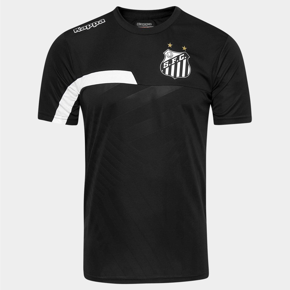 Camisa de Treino Santos 2016 Kappa Masculina - Compre Agora  082d6120ae442