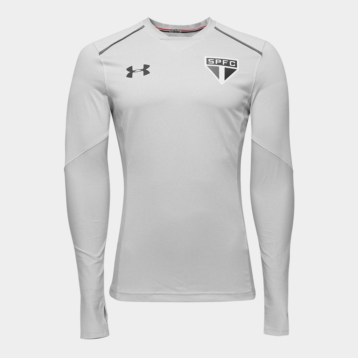 c3c425c8bb Camisa de Treino São Paulo 17 18 Under Armour Manga Longa Masculina -  Compre Agora