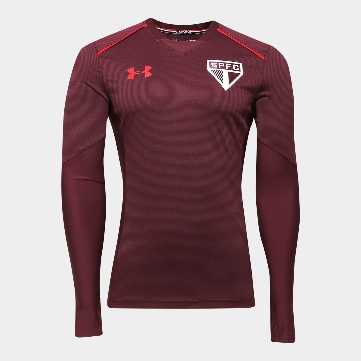 Camisa de Treino São Paulo 17 18 Under Armour Manga Longa Masculina - Compre  Agora  3fffc2d867d78
