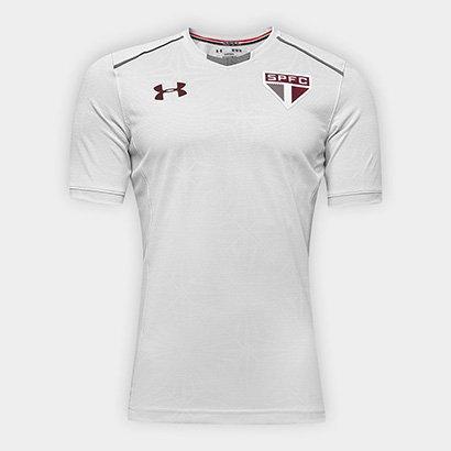 A Camisa de Treino São Paulo 17 18 Under Armour Masculina conta com  tecnologia no aedd786269b58