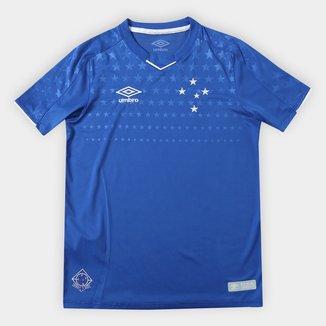 Camisa do Cruzeiro Infantil I 19/20 s/n° Torcedor Umbro