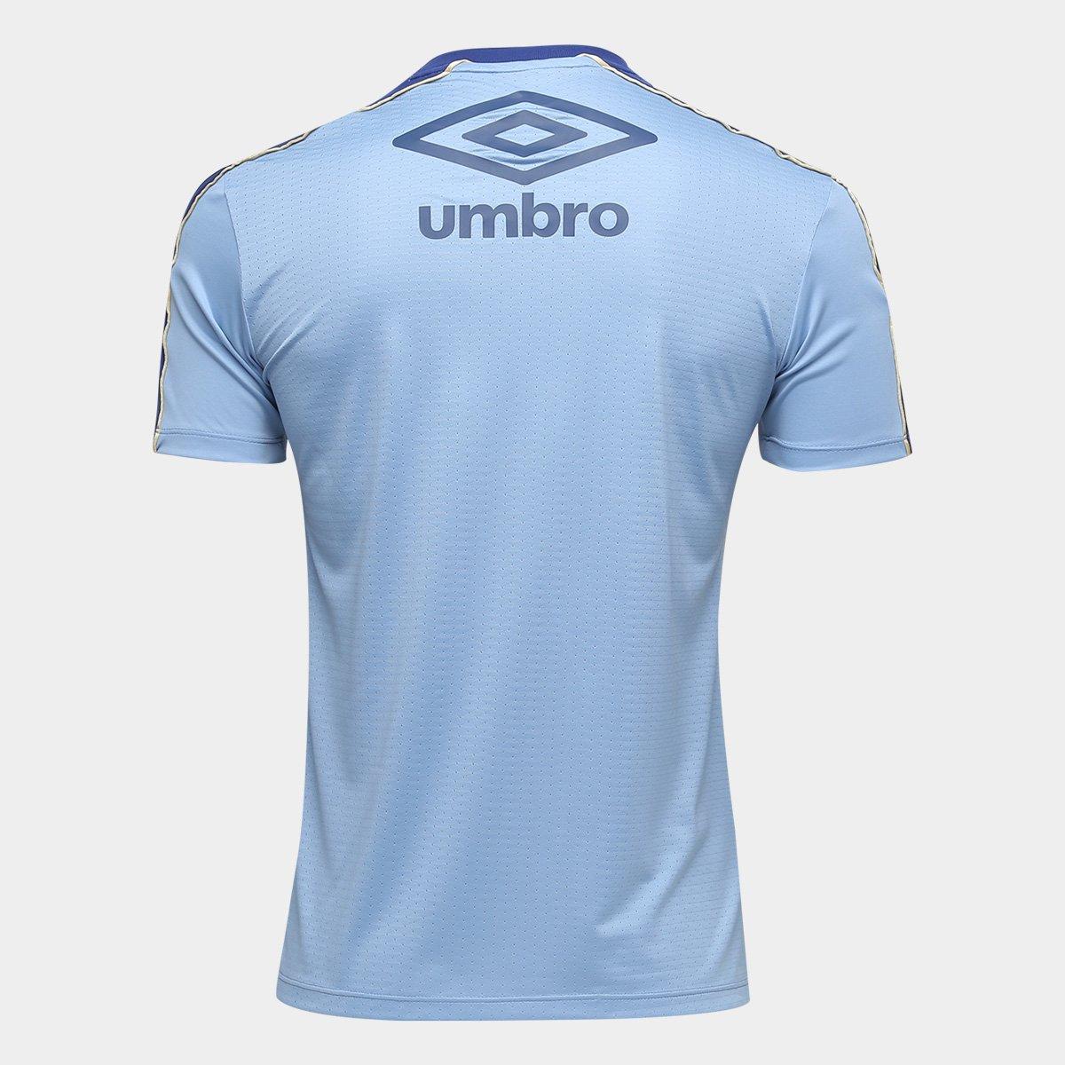 e7f5199449 Camisa do Grêmio 2019 Treino Umbro Masculina - Azul - Compre Agora ...
