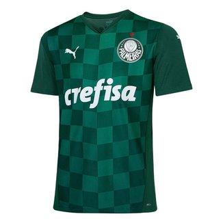 Camisa do Palmeiras I 2021 s/nº Puma Masculina