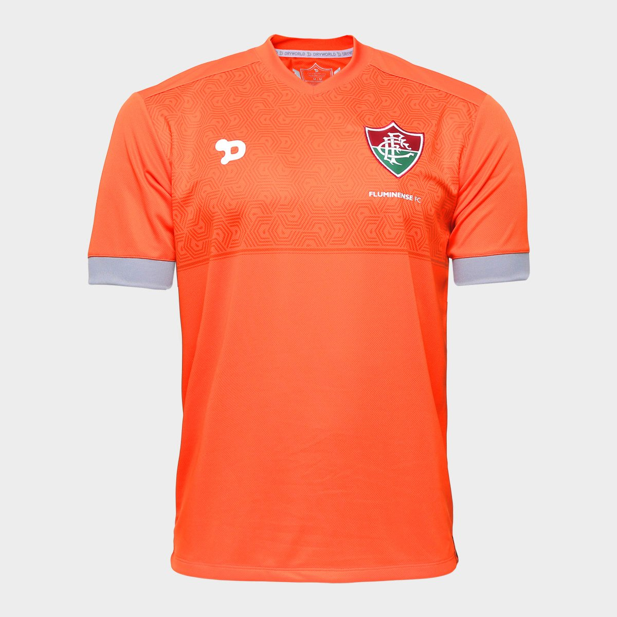 Camisa Dryworld Fluminense Treino Staff - Compre Agora  5a9f98161724d