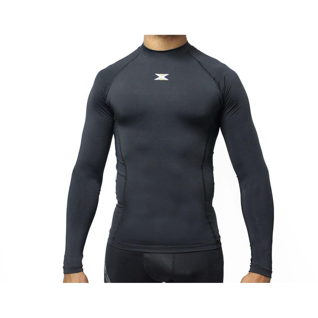 Camisa DX3 Masculina Manga Longa Alta Compressão - Compre Agora ... 1146c1c07e6d6