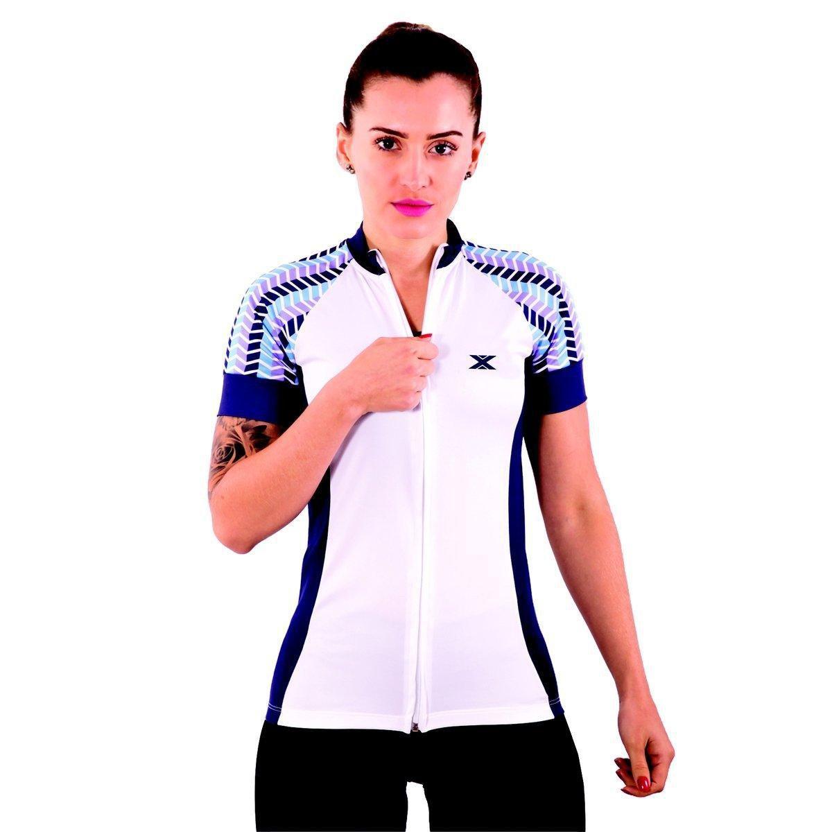 Ciclismo Branco Camisa 81011 XPOWER DX3 DX3 Feminina Camisa wqT60X