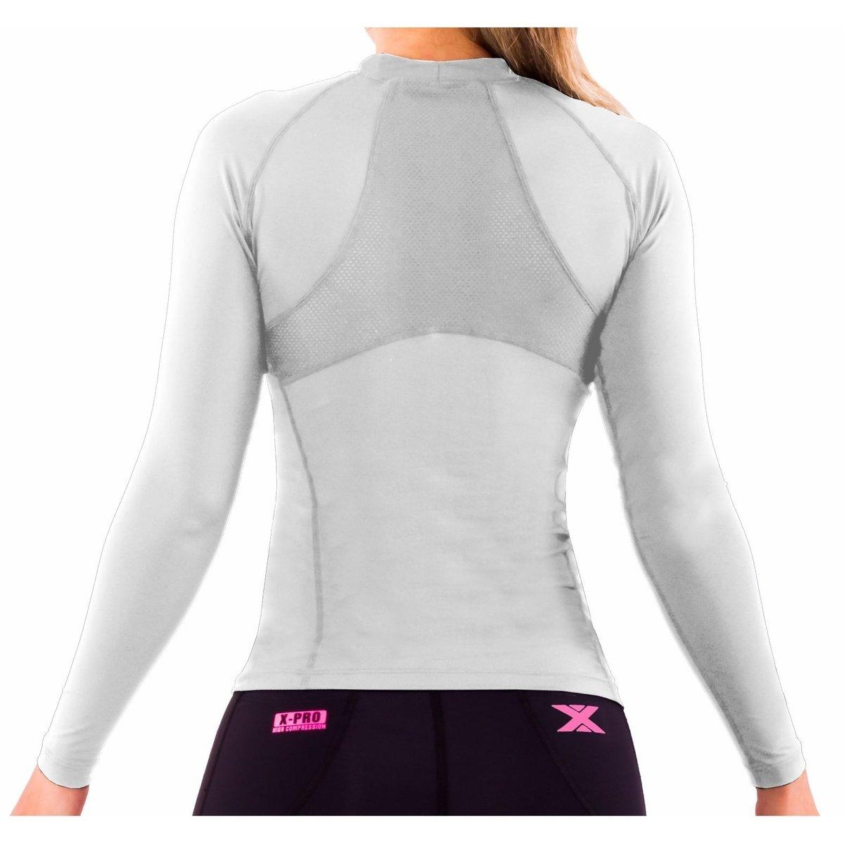 Camisa DX3 XSOFT Feminina Manga Longa Corrida Fitness Trekking 91028 ... fa212a0bffc1a
