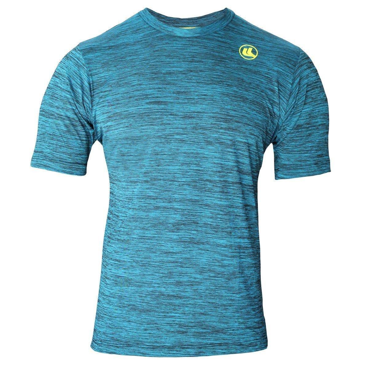 1c758f813fe06 Camisa EL Rajada Plank Proteção UV45 Masculina - Azul e Preto - Compre Agora