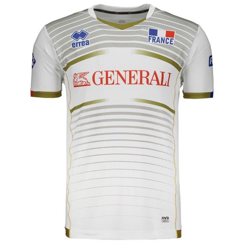 8014f96e72a6e Camisa Errea França Vôlei Away 2017 - Compre Agora