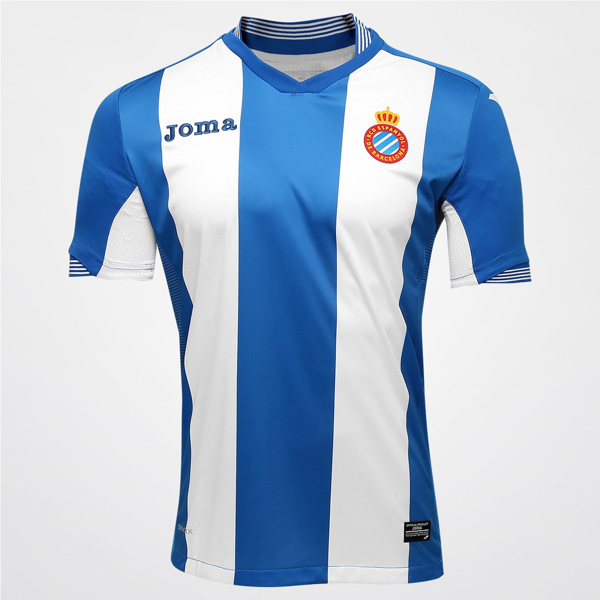 Camisa Espanyol Home 15 16 s nº - Torcedor Joma Masculina - Compre Agora  1a03ad8e9e891