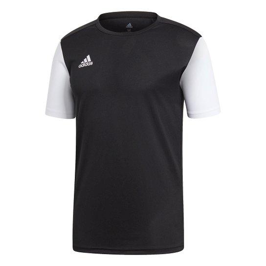 Camisa Estro 19 Adidas Masculina - Preto