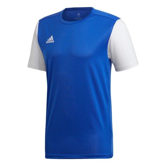 Camisa Estro 19 Adidas Masculina - Azul