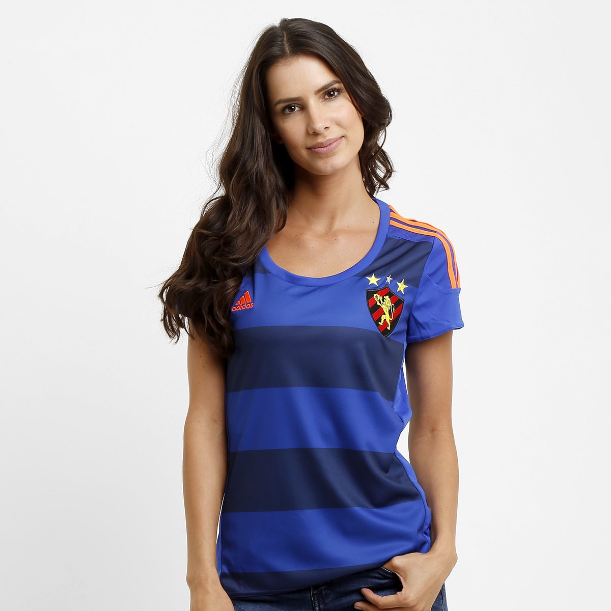 Camisa Feminina Adidas Sport Recife III 15 16 s nº - Compre Agora ... 352c9c44f49d4
