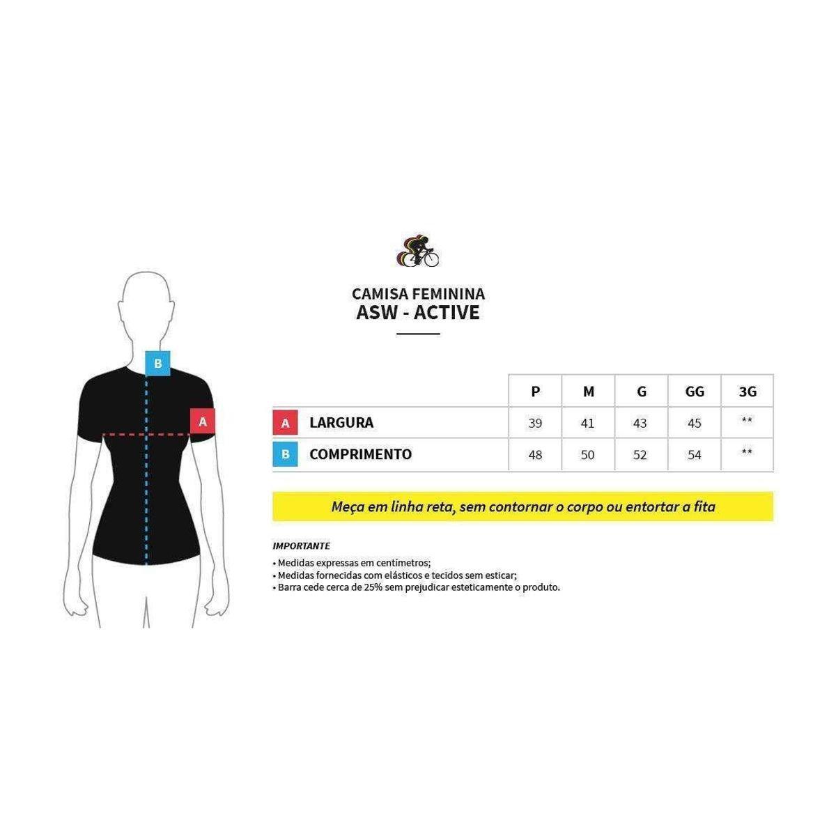 2018 Active Camisa Queen Feminina Camisa Feminina Preto Asw Asw PzUS0q