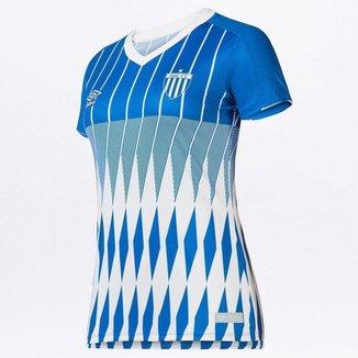 Camisa Feminina Avaí Of.3 2019 Umbro