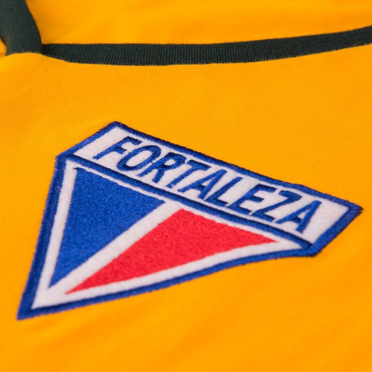 Brasil Retrô Torcedor Camisa Feminina Baby Fortaleza Look Amarelo Seleção Gol qxt0B7