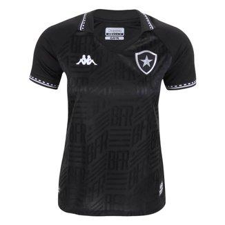 Camisa Feminina Botafogo 2021 Away Kappa Oficial