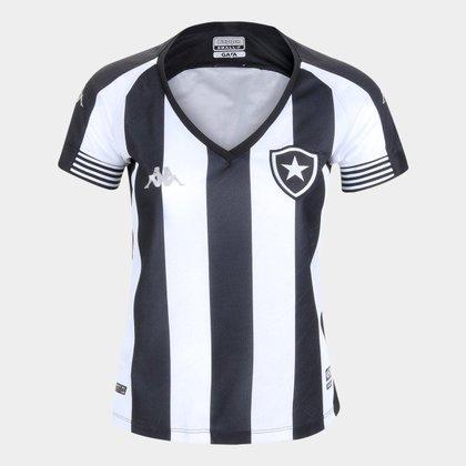 Camisa Feminina Botafogo 2021 Home Kappa Oficial