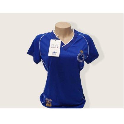 Camisa Feminina Cruzeiro Tríplice Coroa Produto Original