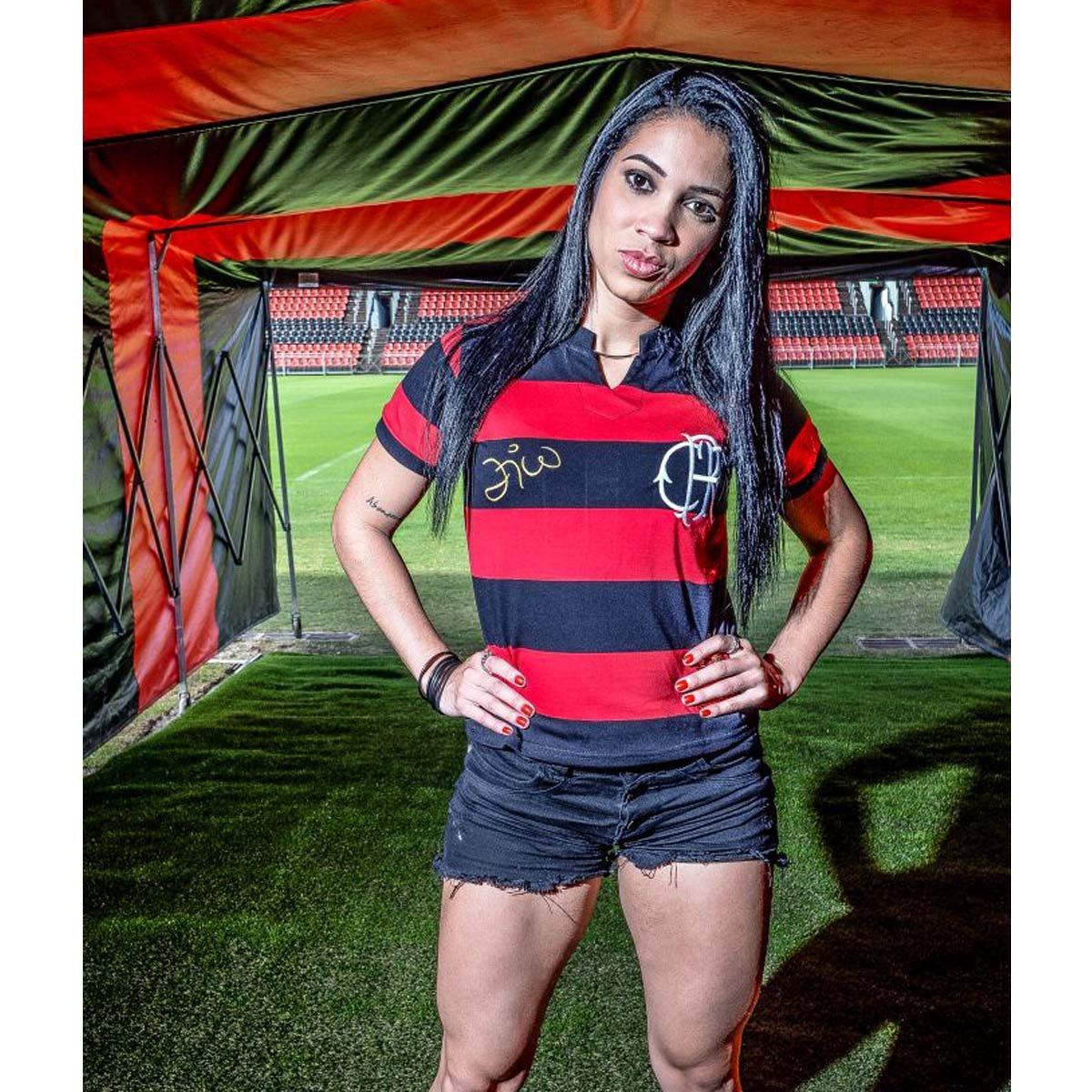 392783fb33 Camisa Feminina Flamengo Tri Zico - Compre Agora