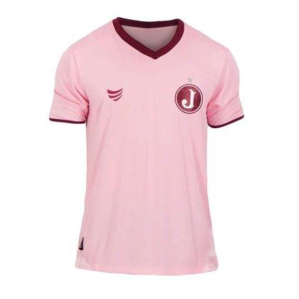Camisa Feminina Juventus Mooca 2021 Rosa Oficial