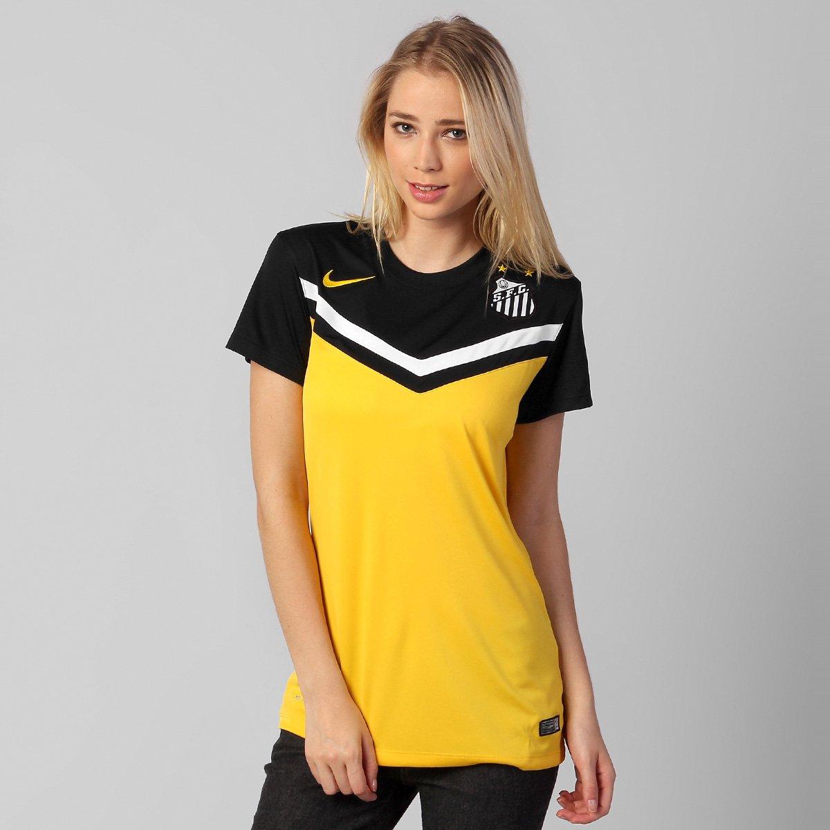 334ad12e33 Camisa Feminina Nike Santos III 2014 s nº - Compre Agora
