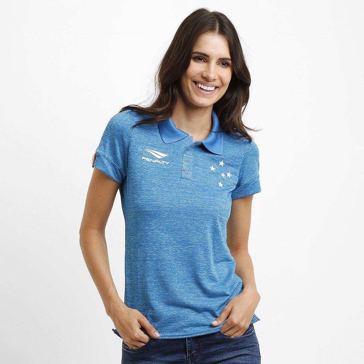 d5c20b0edd822 Camisa Feminina Penalty Cruzeiro III 15 16 s nº - Compre Agora ...