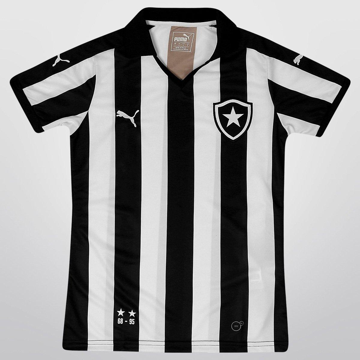 8b228c6a6691a Camisa Feminina Puma Botafogo I 15 16 s nº - Compre Agora